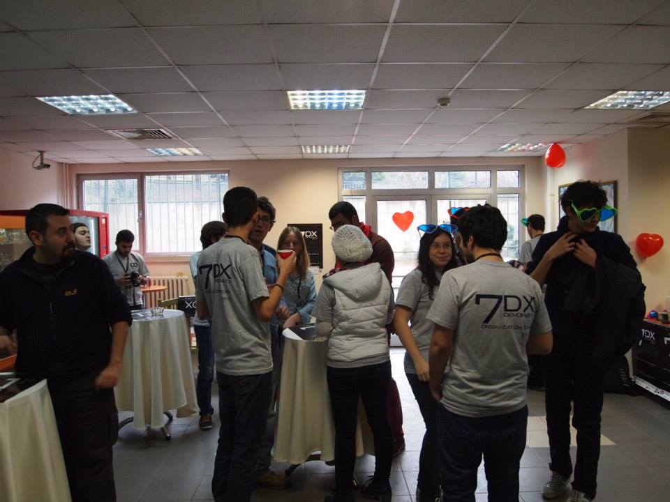 Oyunder olarak 7DX Demo Party'deydik