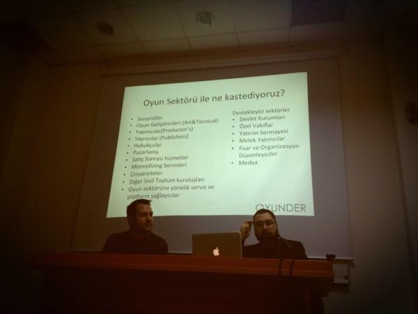 Oyunder, GDT (Game Developers Turkey) buluşması