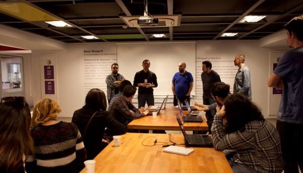 Oyunder olarak GDT Meet-up 3′teydik