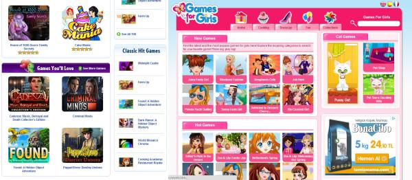 BigFishGames.com ve GamesforGirls.com