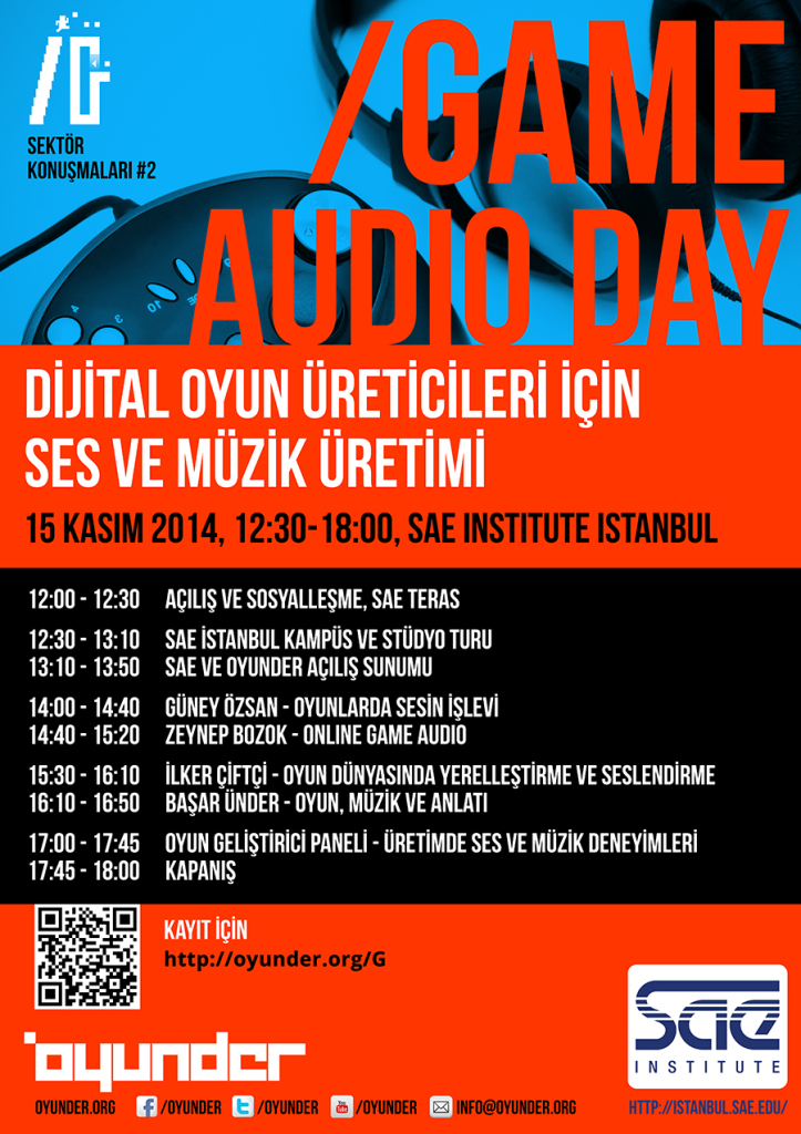 /Game Audio Day Programı ve Kayıt Bilgileri