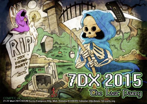 7DX son kez katılımcılarını davet ediyor