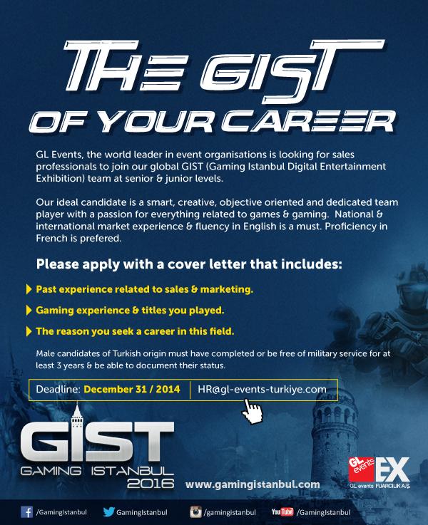 GIST bünyesinde görev yapmaya ne dersiniz?