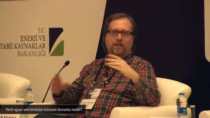 Kristal Piksel ödül töreninde Levent Pekcan'ın Türk oyun sektörü konusundaki konuşması