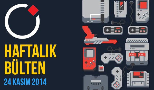 Oyunder Haftalık Bülten (24 Kasım 2014)