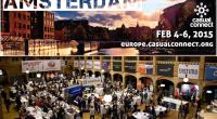 Bu yıl 4-6 Şubat tarihlerinde Amsterdam'da yapılacak Casual Connect 2015 için geri sayım başladı.