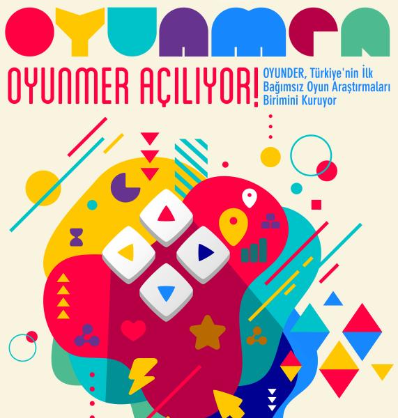 OYUNMER AÇILIYOR! OYUNDER, Türkiye'nin ilk bağımsız oyun araştırmaları birimini kuruyor...