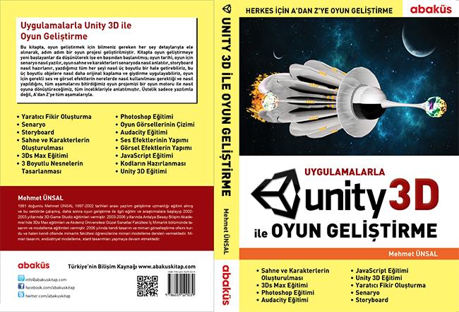 """""""Uygulamalarla Unity 3D ile Oyun Geliştirme"""" kitabı, Oyunder üyelerine indirimli"""