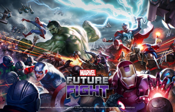 "Netmarble yeni mobil RPG oyunu ""Marvel Future Fight""ı duyurdu!"