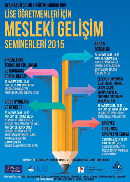 Oyunder akademik kurul üyeleri Beşiktaş ilçesindeki lise öğretmenlerine video oyunlarını anlatacak