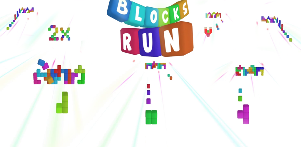 Blocks Run, Google Play'de yerini aldı