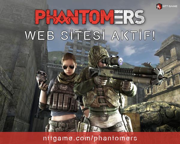 Phantomers Resmi Websitesi Aktif Edildi!
