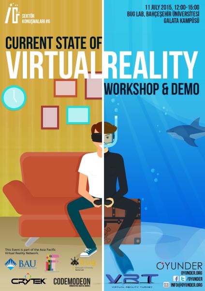 The Current State of Virtual Reality etkinliğinin programı belli oldu