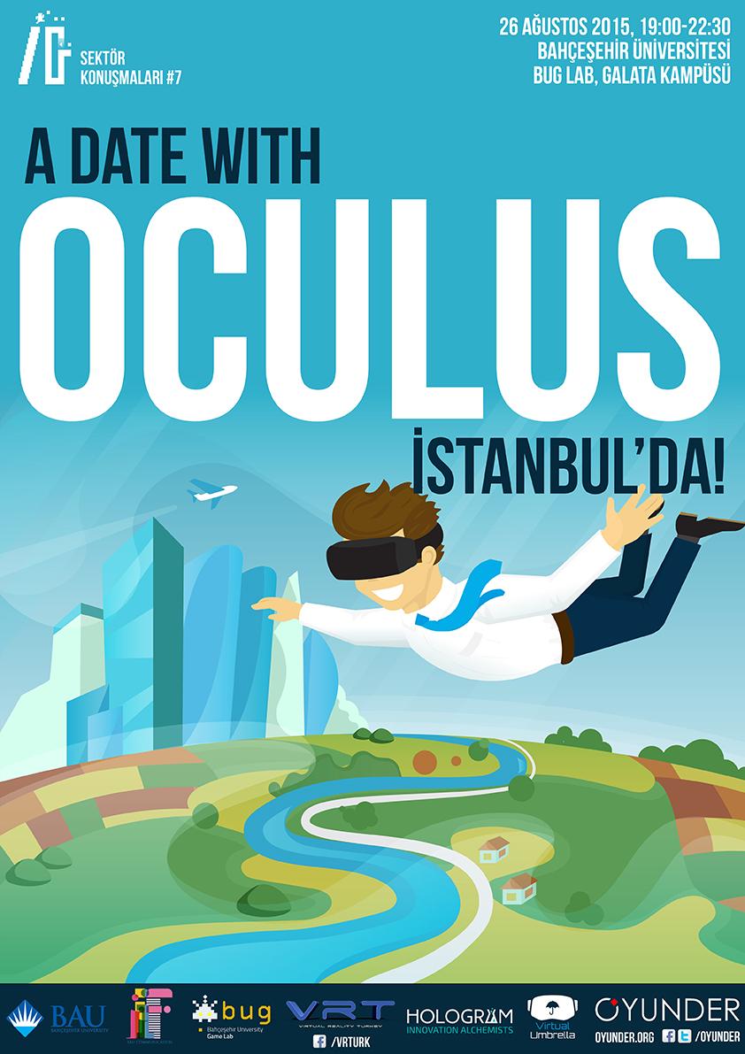 Oculus Rift İstanbul'da!