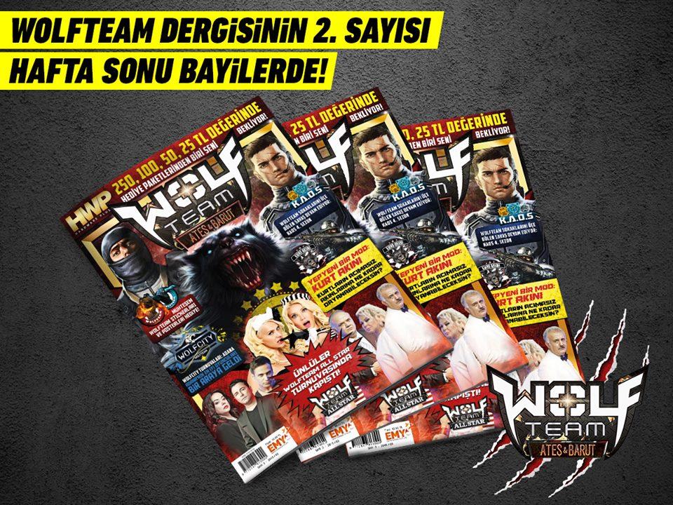 Wolfteam Dergisi'nin 2. Sayısı Raflarda!