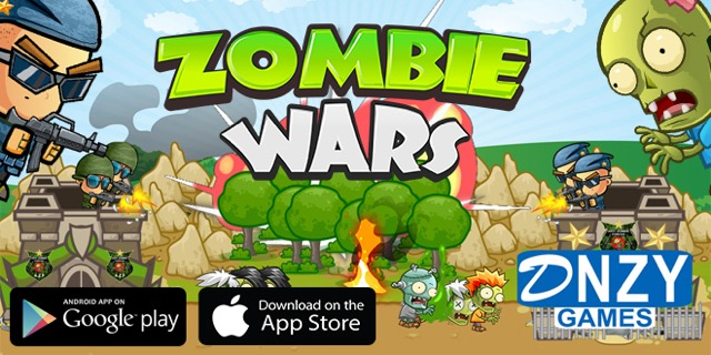 Zombie Wars, iOS ve Android için çıktı