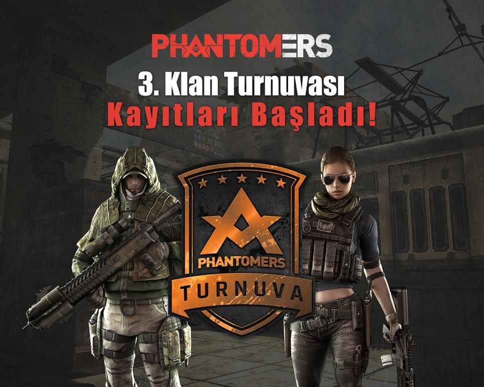 3. Phantomers Klan Turnuvası Kayıtları Başladı!