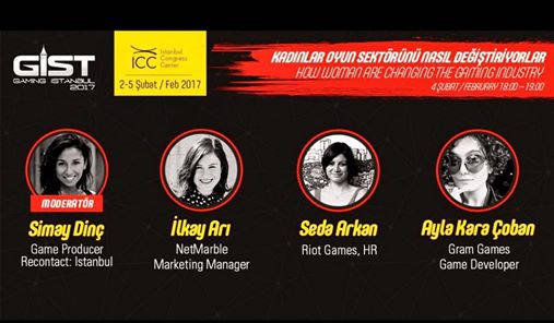 """Oyunder 'in çalışma kurullarından Women In Games """"Kadınlar Oyun Sektörünü Nasıl Değiştiriyorlar"""" konulu panel ile GIST 2017 'de… 4 Şubat saat 18:00 'da düzenlenecek panelin moderatörlüğünü Oyunder Yönetim Kurulu Üyesi […]"""