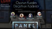 """Türk Oyun Sektörü'ne Yön Veren Kadınlar Oyunun Kuralını Değiştiriyorlar… Moderatörlüğünü Oyunder Yönetim Kurulu Üyelerimizden Simay Dinç tarafından yapılacak olan """"Oyunun Kuralını Değiştiren Kadınlar"""" Paneli 18 Şubat 2017 'de Boğaziçi Üniversitesi […]"""