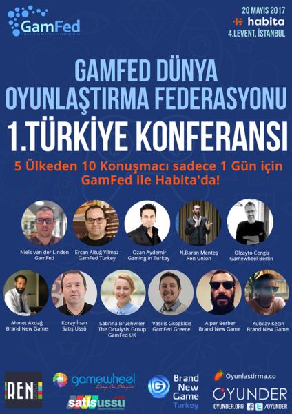 GamFed 1. Türkiye Konferansı