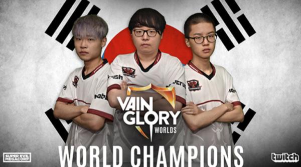 Mobil eSpor takımı Phoenix Armada İlk Vainglory Dünya Şampiyonu
