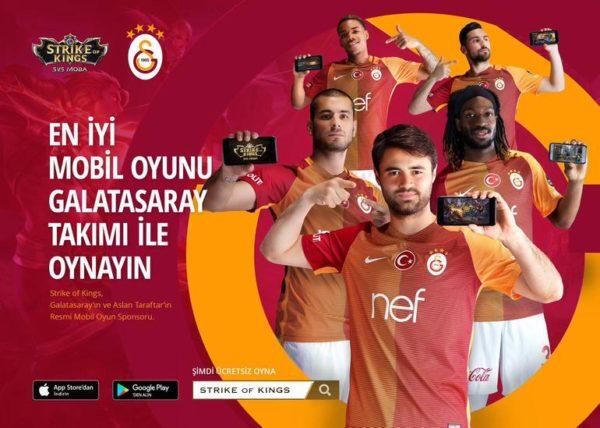 Galatasaray Strike Of Kings Takımı Kuruyor