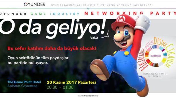 """Eğlen, Tanış, Oyna ve Haberdar Ol! Türk Oyun Sektörünü bir araya getiren ve birincisi geçen Mayıs 2017'de OYUNDER tarafından düzenlenen """"O da geliyo!"""" Oyun Sektörünün ilk buluşma konseptli partisinin ikinci […]"""