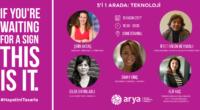 Arya : 5'i 1 Arada Söyleşi serisinin 3.'sünde konu: Teknoloji  5 Arya Kadını interaktif bir ortamda tanışmak, konuşmak, ilham almak, paylaşmak için sizi bekliyor.#hayatinitasarla Teknoloji alanında çalışan lider kadınlar […]