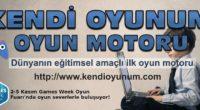Oyun motoru yazılımları ve mobil oyunlar geliştiren Gamelab Istanbul, Games Week Fuarında 2 yeni ürününün tanıtımını yapacak. Gamelab Istanbul, 2007 yılında oyun yayıncılığıyla uğraşan bir yönetici ekibin tecrübesinin, üniversite öğrencilerinin […]