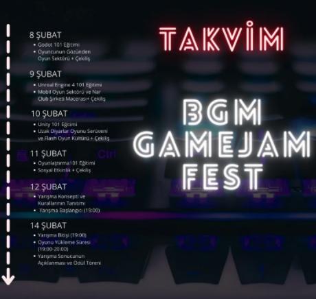 BGM GAMEJAM FEST TAKVIM